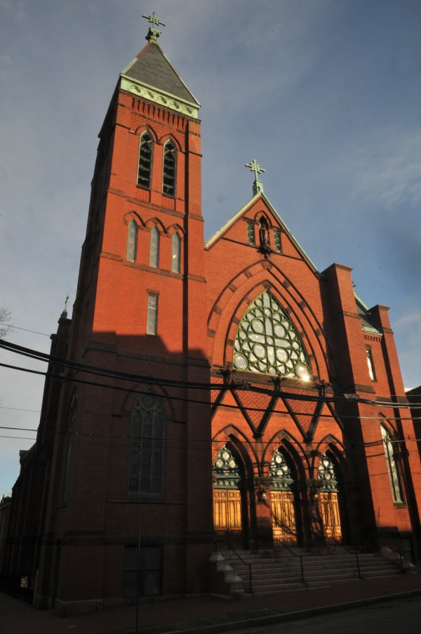 Maine Irish Heritage Center's home is the former St. Dominic's Church at 34 Gray Street in Portland.