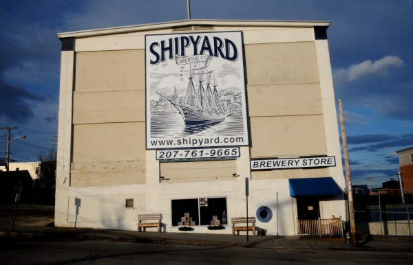 Shipyard Brewing is located at 86 Newbury Street in Portland.