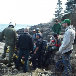 Helicopter helps rescue ailing hiker from Bold Coast Trail