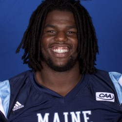 Donte Dennis savoring senior season on University of Maine football team