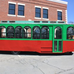 Presque Isle Historical Society's trolley makes inaugural run