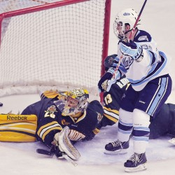 Maine hockey coach Whitehead credits players for good NCAA tournament record
