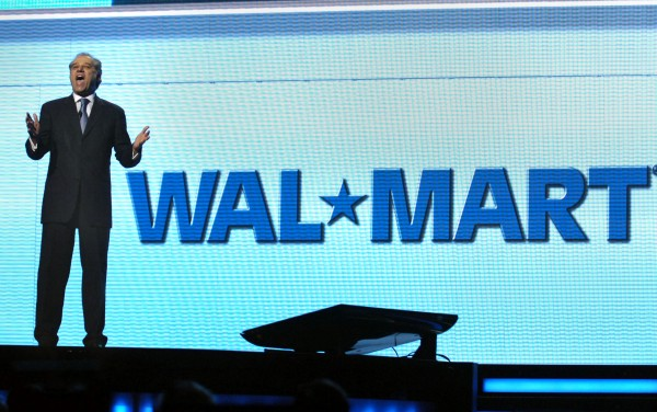 In this June 6, 2008 file photo, Eduardo Castro-Wright, then president and CEO of Wal-Mart Stores Inc., United States' division, speaks during the annual Wal-Mart shareholder's meeting in Fayetteville, Ark.