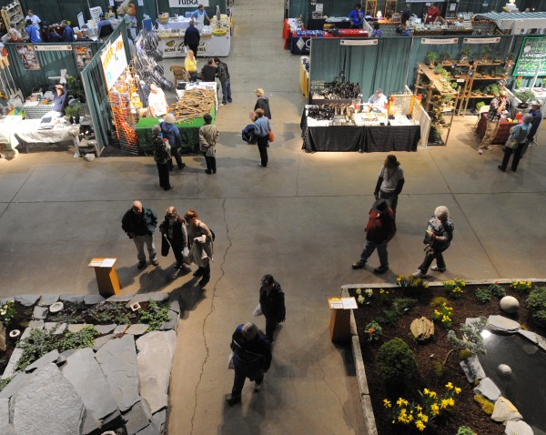 The Bangor Home and Garden show opened its doors Friday, April 6, 2012. Over 50 vendors and exhibitors are participating in the show that runs through Sunday.