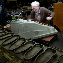Brewer leather company makes high-end belts, shoes