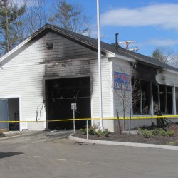 Fire that heavily damaged vacant Wiscasset apartment building likely started in basement