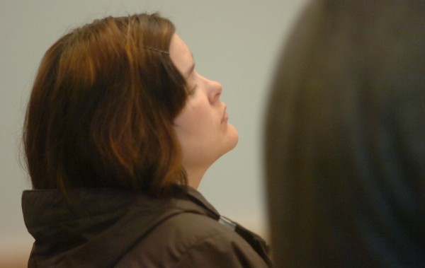 Lynn Crossman during her sentencing at Penobscot Judicial Center on Wednesday, April 11, 2012.