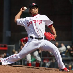 Red Sox pitcher Matsuzaka upholds tradition in rehab stint with Sea Dogs