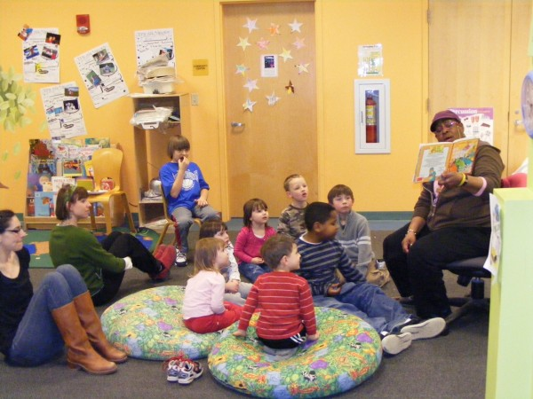 Children sit for story time during the 2011 &quotHealthy Kids Day&quot at Waldo County YMCA in Belfast. Y's across the nation will observe Healthy Kids Day on Saturday, April 28.