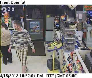 Cumberland Farms surveillance image.