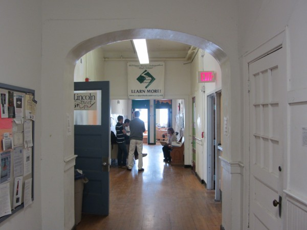 The Watershed School is the largest tenant in the Lincoln Street Center in Rockland, occupying much of the first floor.