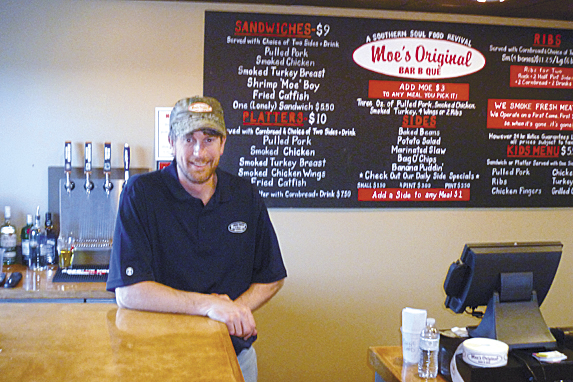 "Dwight ""Dewey"" Hasbrouck, an Orono native, said the time is right to bring Moe's Original Bar B Que to Bangor."