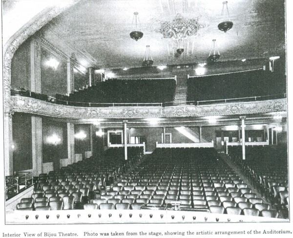 The new Bijou Theater, which opened on April 18, 1912, was described as one of the finest vaudeville houses in New England. The managers promised quality acts on a par with Portland and Boston.