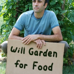 Roger Doiron, freelance garden writer and founder of Kitchen Gardeners International.