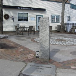 Brass Compass gets park space, Rockland mayor apologizes for hat-throwing squabble
