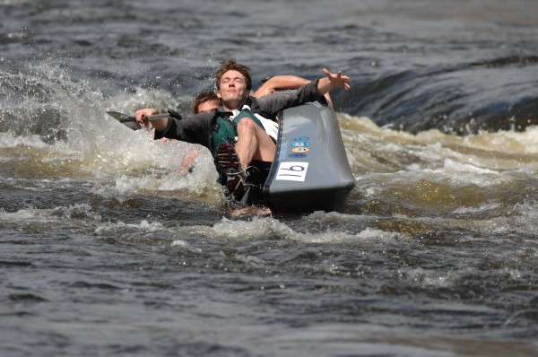&quotThe first photo here, where the paddler appears to have resigned to his fate of capsizing, is one of my all-time favorites. This was taken during the 2009 race,&quot said Michael Alden.