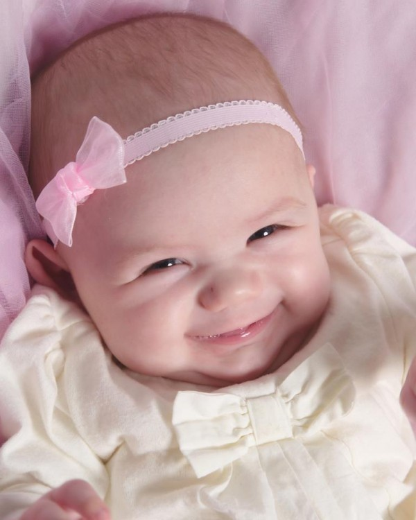 Zoe, 7-month-old daughter of Brad and Kristi Roy of Bangor, was named a winner of Penobscot Community Health Care Dental Center's first Cutest Smile Contest.