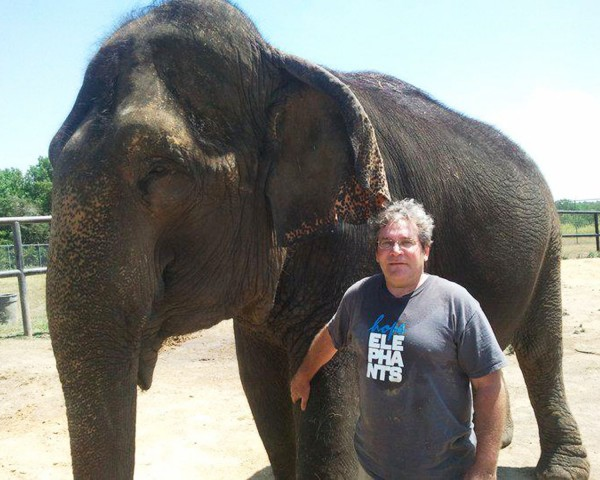 Jim Laurita's nonprofit group, Hope Elephants, plans to move Rosie and another elephant to Hope, Maine, by September 2012.