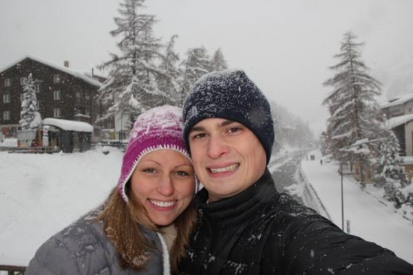 U.S. Army Capt. John &quotJay&quot R. Brainard III with his wife, Emily, in Zermatt, Switzerland for their 3rd wedding anniversary in 2011. Capt. Brainard, an Army helicopter pilot from Newport, was killed Monday, May 28 in Afghanistan.