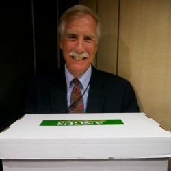 Angus King enters race for U.S. Senate