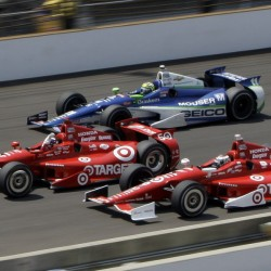 Franchitti wins IndyCar's opener in St. Pete