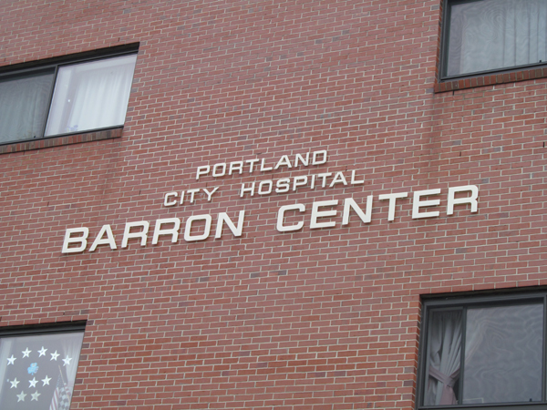 The city of Portland's Barron Center — named for Matthew and Evelyn Barron, director and nurse, respectively, at the center's predecessor hospital — is celebrating its 30th year in 2012.