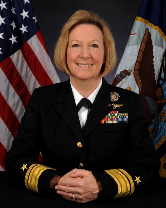 Rear Adm. Robin R. Braun of Brunswick.