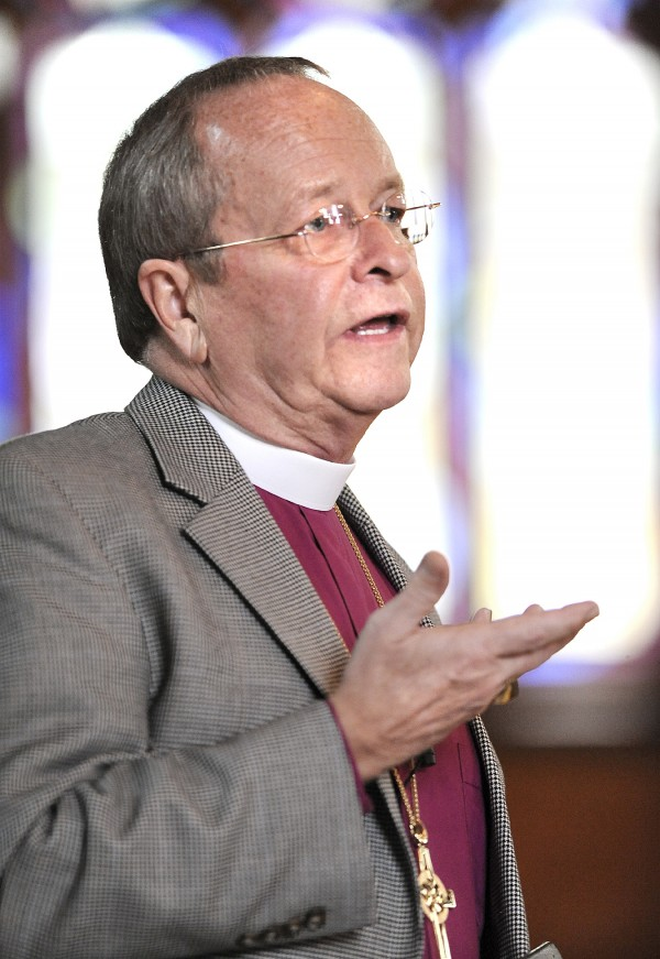 The Right Rev. V. Gene Robinson, bishop of the Episcopal Diocese of New Hampshire.