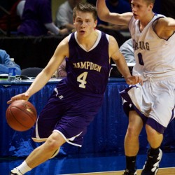 Transition to college basketball a 'roller coaster' for Hampden's Christian McCue