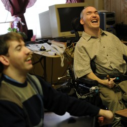Hancock County men with cerebral palsy suing state over housing