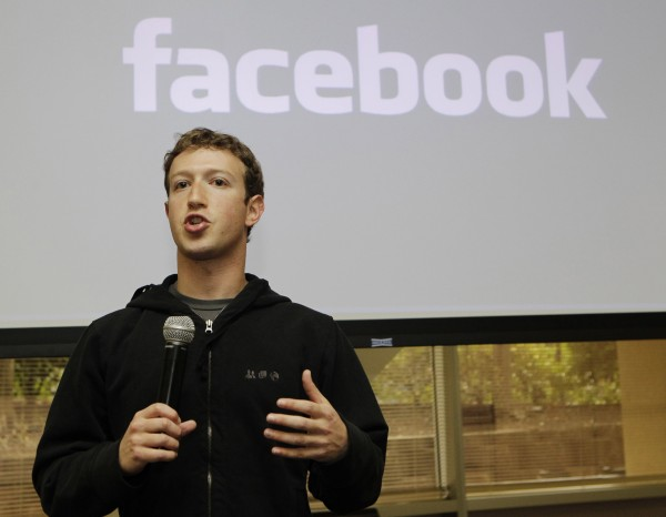 Facebook CEO Mark Zuckerberg talks about the social network site's new privacy settings in Palo Alto, Calif., in 2010.