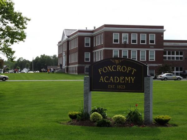 Foxcroft Academy in Dover-Foxcroft.