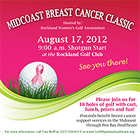 2nd Annual Midcoast Breast Cancer Class Golf Tournament