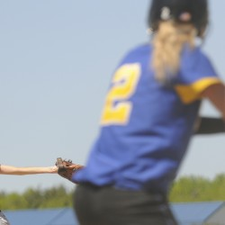 Caribou, Hermon each take one in softball doubleheader