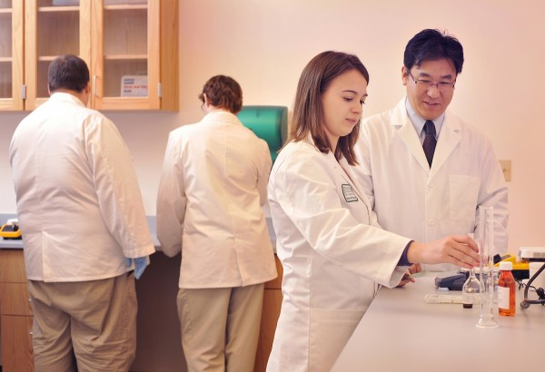With the guidance of experienced faculty members, students enrolled in the Husson University School of Pharmacy learn about the many aspects of pharmacology.