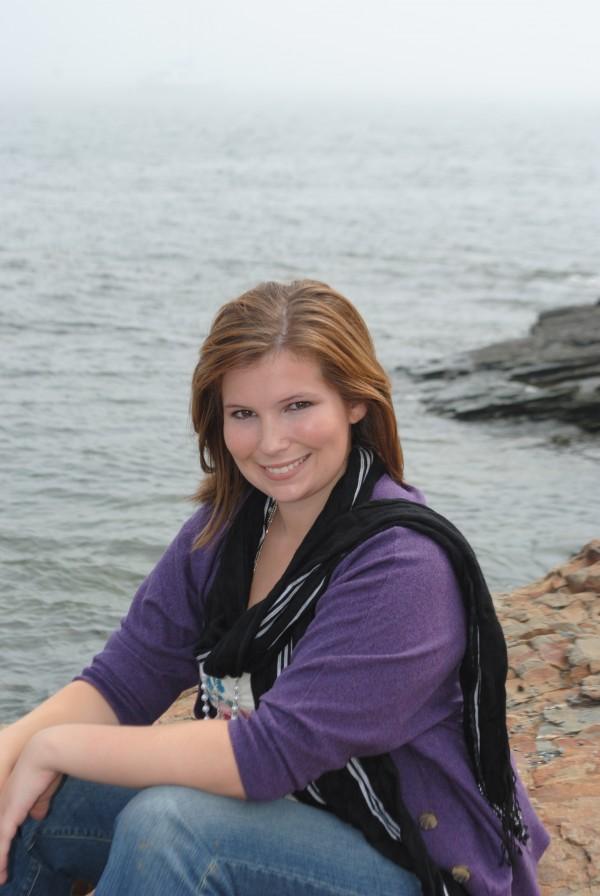Katrina Lessard, 2012 valedictorian for Central High School, Corinth.