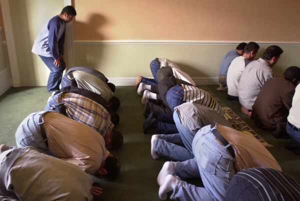 Nearly 40 Muslims pray at the University of Maine. Maine is the least-religious state in the nation according to several surveys.