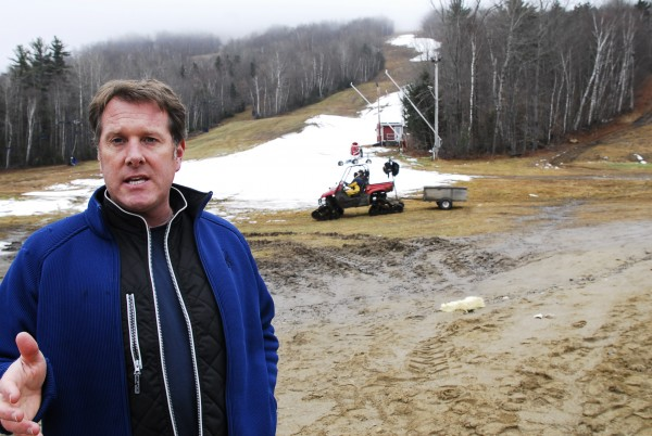 Matt Hancock, owner of the Mt. Abram ski hill in Greenwood, talks about his plans to open the ski mountain in November 2011. Hancock, a former Lake Region High School and Colby College basketball star, will be inducted into the Maine Sports Hall of Fame on Sunday, May 20, 2012 at the Bangor Civic Center.
