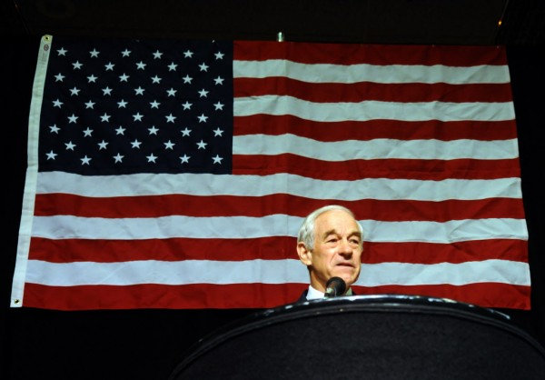 Presidential hopeful Ron Paul talks to delegates of the state GOP convention at John Ascauaga's Nugget in Reno earlier this month. Paul has urged his supporters to stay involved in state-level election processes even as his campaign is apparently at an end.