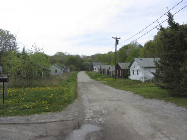 The cottages that line both sides of Philbrick Avenue are scheduled to be demolished over the next week.