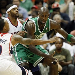 Pierce leads Rondo-less Celtics past Hawks 87-80