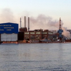 Six hurt in fire on nuclear sub in Kittery shipyard