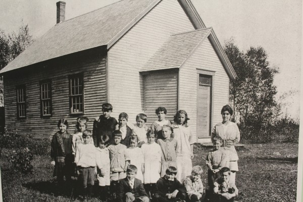 Owls Head's Timber Hill one-room schoolhouse.