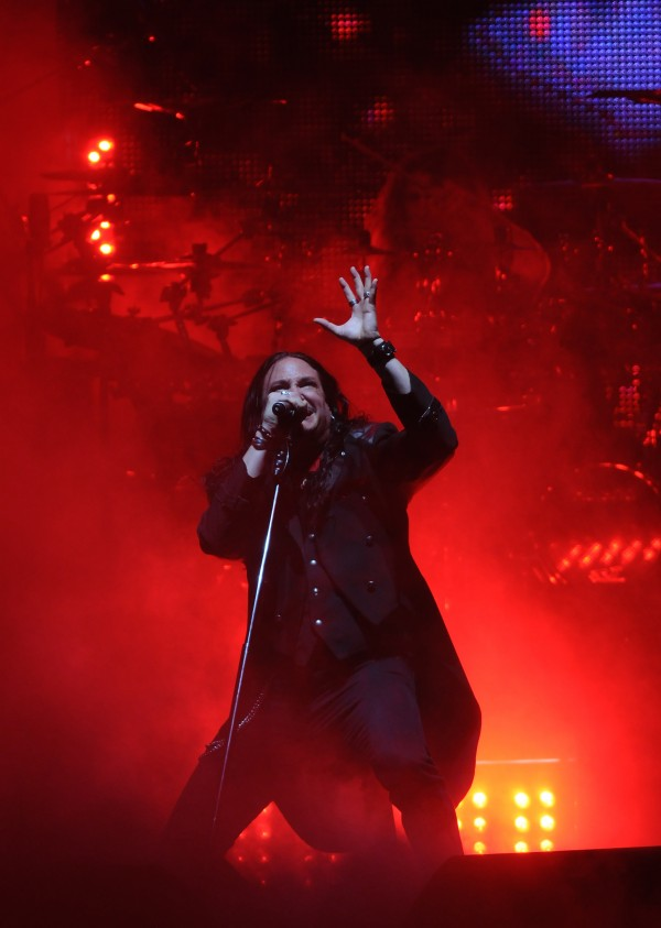 Ronny Munroe performs as part of the Trans-Siberian Orchestra on the Bangor Waterfront on Wednesday, May 9, 2012.