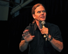 "Taylor Mali is one of the most well-known poets to have emerged from the poetry slam movement. He is a veteran of the HBO series ""Def Poetry Jam,"" and has won the National Poetry Slam championship four times. A vocal advocate of teachers and the nobility of teaching, Mali himself spent nine years as a classroom teacher."