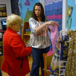 Clothing sale adds up to support worthy cause