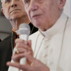 Pope denounces discrimination, violence against Christians