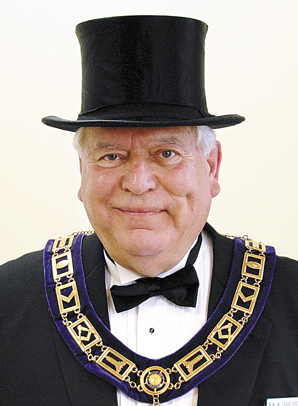 "W. Louis Greenier II is the Grand Master of the Grand Lodge of Maine. Before participating in the April 21 dedication for the Grand Lodge's new business office in East Holden, he described the location as ""pretty convenient to Bangor, the interstate, the coast."""