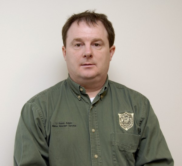 Lieutenant Kevin Adam is the lieutenant for Division D, Maine Warden Service, and the coordinator for the service's Incident Management Team.