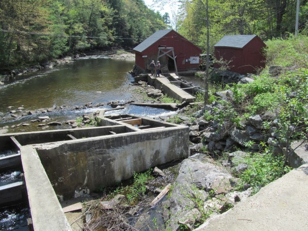Alewife harvests from Nequasset Creek in Woolwich have been ongoing at this site between Nequasset Lake and the Kennebec River since before the first European settlers arrived.